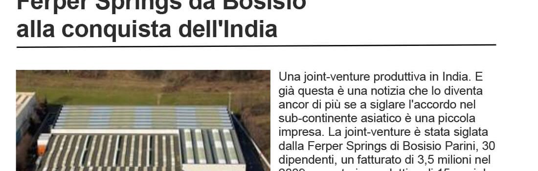 Ferper Springs von Bosisio zur Eroberung Indiens